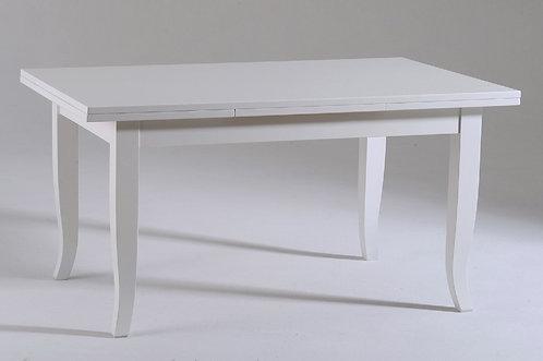 Tavolo allungabile TOLEDO laccato bianco
