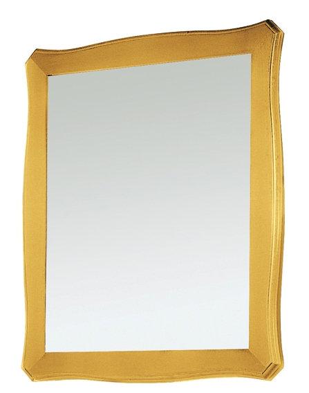 """Specchio in foglia oro """"GOLD"""""""