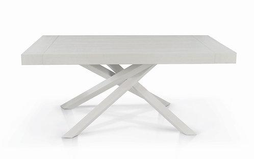 Tavolo NEVE in finitura bianca