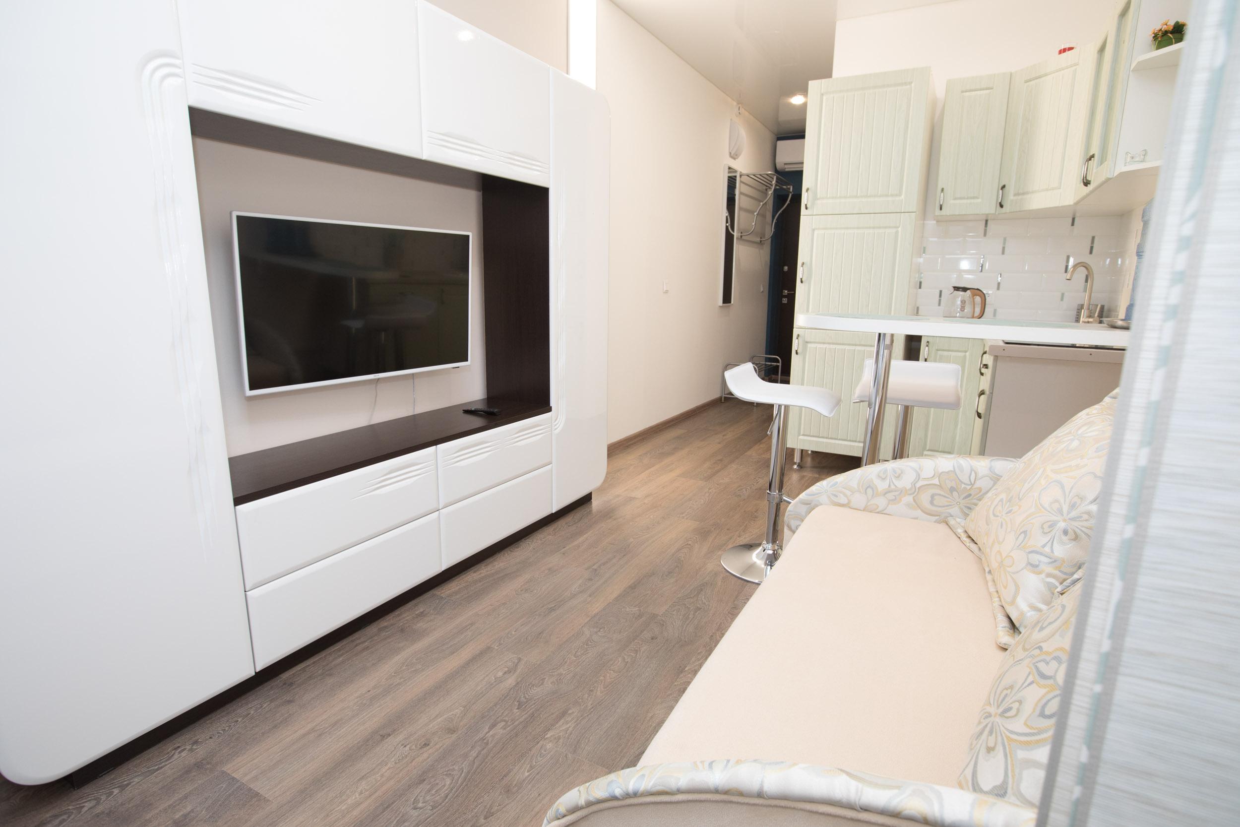 Radius Central House-мини кухня в номере