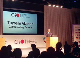 G20 YEA Japan 2019 | Behind The Scenes Images