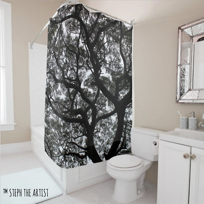 Ancient Haitian Trees / Shower Curtain