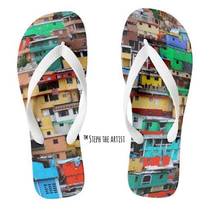 Jalousie Haiti / Unisex Sandals