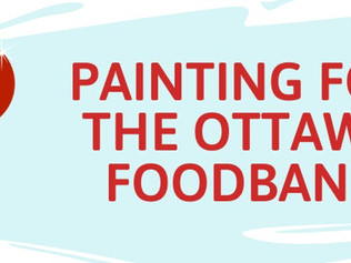 Painting for the Ottawa Food Bank | December 8th 2019
