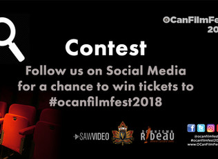 Win tickets to #OCanFilmFest2018