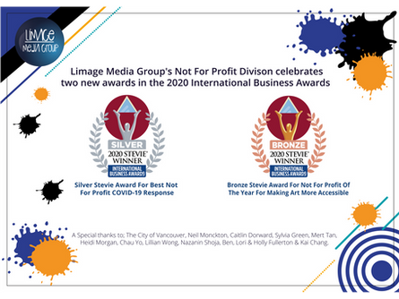 Limage Media Group wins two Stevie® Awards in the 2020 International Business Awards