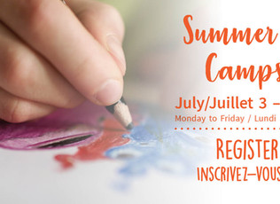 Summer Camps | Ottawa School of Art - Now Registering