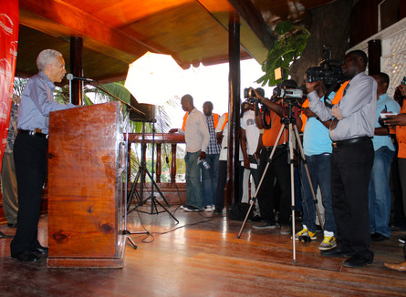 Cap Haitien Press Conferences/ Sunrise Airways