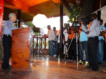 Cap Haitien Press Conferences/ Sunrise Airways