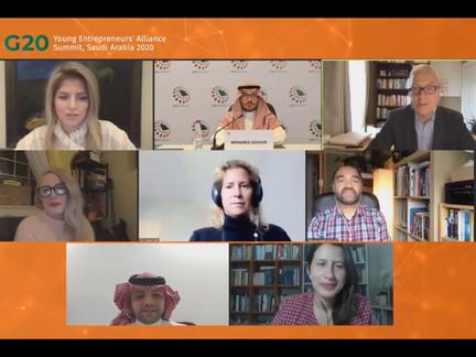 Limage Media Groups Founder & CEO Speaks at G20 YEA Saudi Arabia