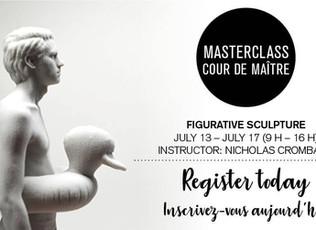 Masterclass -  Figurative Sculpture   Ottawa School of Art