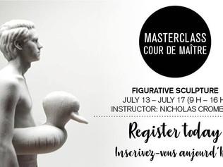 Masterclass -  Figurative Sculpture | Ottawa School of Art