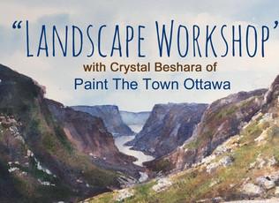 Landscape Workshop in Watercolours   Wallack's Art Supplies