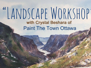Landscape Workshop in Watercolours | Wallack's Art Supplies