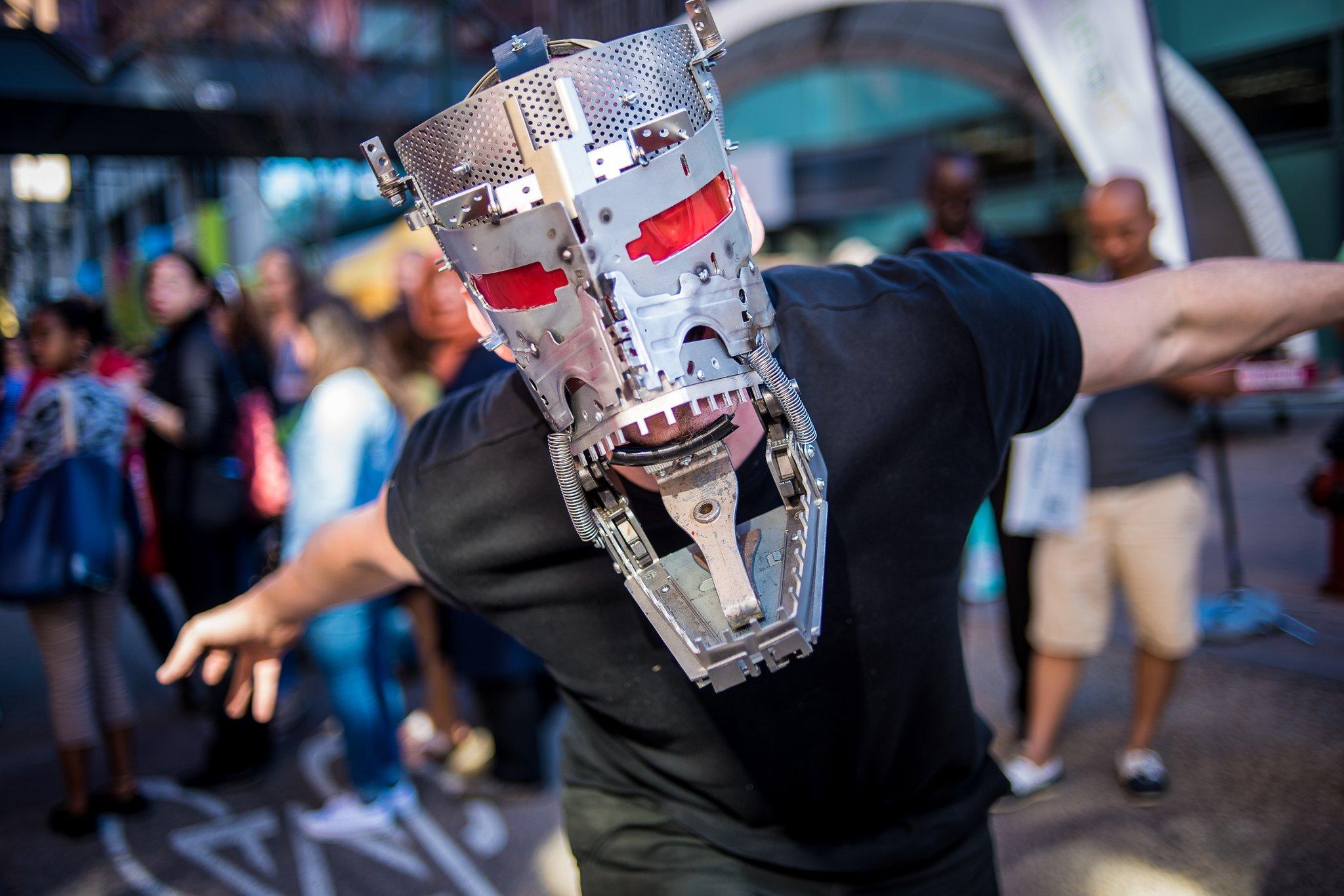 Ogre Mask - photo by Jackie Ho
