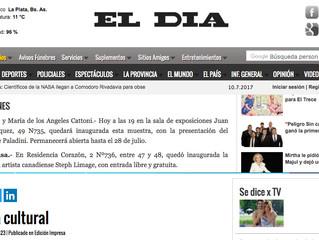 EL DIA La Plata - Agenda Cultural / EXPOSICIONES: Lejos De Casa