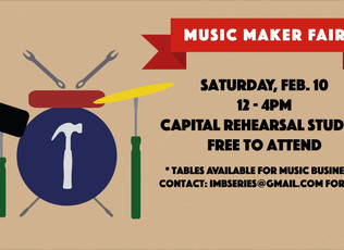 Ottawa Music Maker Fair and Trade Show - February 10th