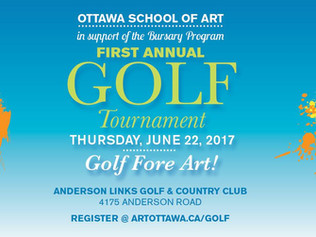 Ottawa School Of Art Charity Golf Tournament