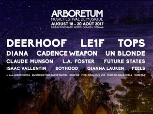 Arboretum Festival 2017 - August 18th - 20th