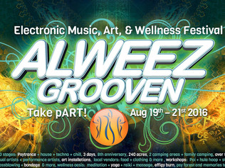 ALWEEZGROOVEN 2016/ 3 Day Electronic Music Outdoor Festival