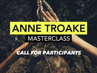 Anne Troake: MasterClass presented by SAW Video, Ottawa Dance Directive / Centre de danse contempora