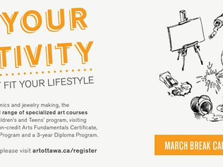 Ottawa School of Art - March Spring Break Camps