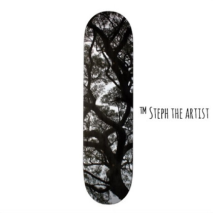 Ancient Haitian Trees / Custom Skateboard Deck