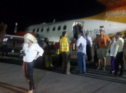 Cuban Delegation / Sunrise Airways / Night Shoots
