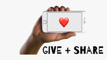 Give + Share Mobile Application