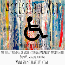 Accessable Art With Steph Limage Art Theraphy