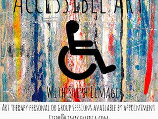 Special Needs Art Therapy With Steph Limage - Accessible Art