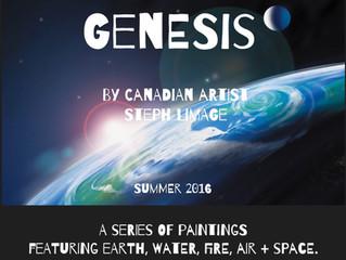 """""""Genesis"""" - New Painting Series"""
