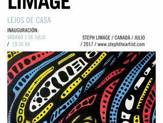 "Inauguration / Opening ""Lejos De Casa"" - Steph Limage Argentina"