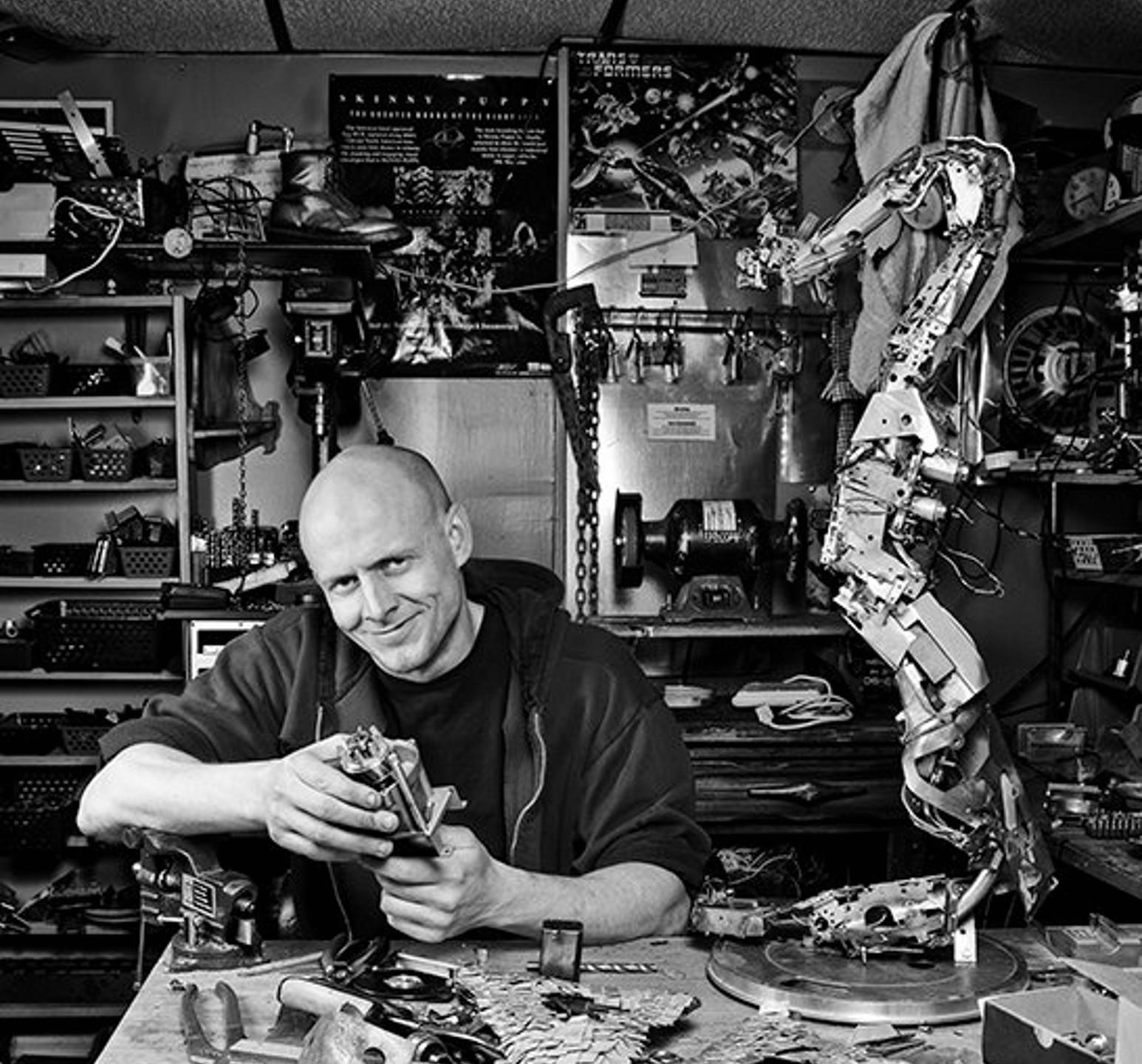Me in the workshop - by Irvina Nuspahic