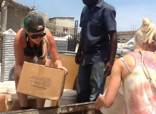 Food Distribution Haiti