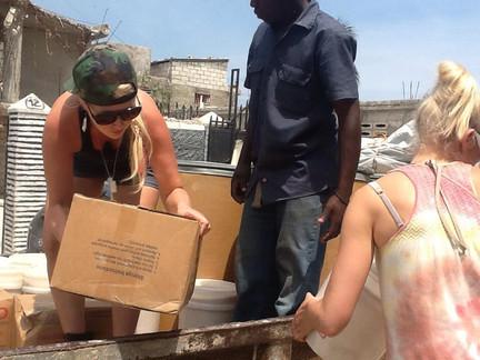 Food Distribution Haiti