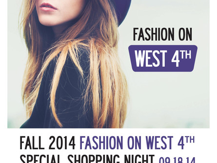 """Kitsilano West 4th Ave Business Association  """"FASHION ON FORTH""""."""