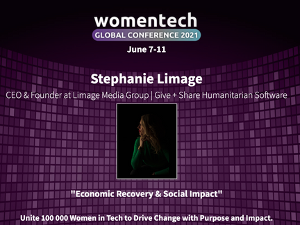Women in Tech Global Conference| Our CEO & Founder is Speaking  June 8th 2021