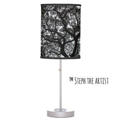 Ancient Haitian Trees / Custom Table Lamp