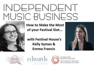 04.28 Indie Music Biz #20: Make the Most of your Festival Slot