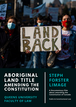 Aboriginal LAND TITLE  AMENDING THE Constitution Steph Limage Film