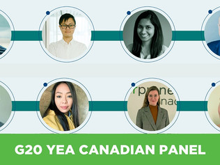 G20 YEA Canadian Panel | Social Entrepreneurship for a Global Recovery