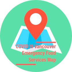 COVID 19 Emergency Food Services Map