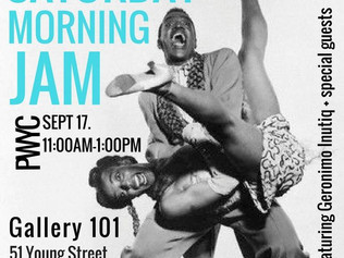 Morning Jam at Gallery 101 - Good Vibes Only This Saturday 11am!
