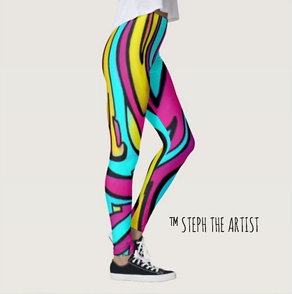 Neon Genesis / Leggings