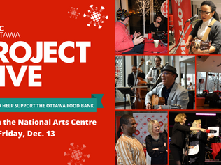 CBC OTTAWA'S PROJECT GIVE WILL BE LIVE FROM THE NATIONAL ARTS CENTRE ON FRIDAY, DEC. 13 IN SUPPORT O