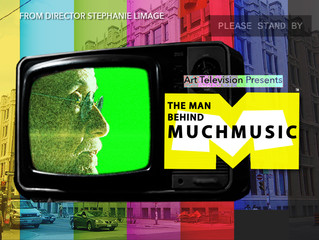 "New Work | Now Streaming on Amazon Prime Video - ""The Man Behind MuchMusic""."