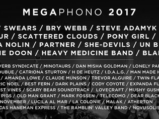 MEGAPHONO 2017 - Attention Ottawa Musicians