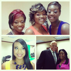 Instagram - #picstitch more models! Me and world renowned hairstylist Martin Par