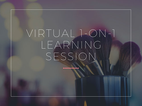 Virtual 1-on-1 Learning Session